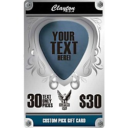 Clayton Custom Pick Gift Card (CGC30)