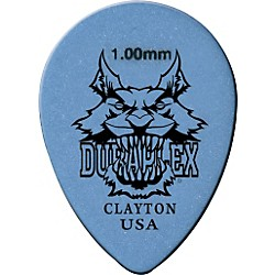 Clayton Duraplex Delrin Small Teardrop Picks 1 Dozen (DXST88/12)