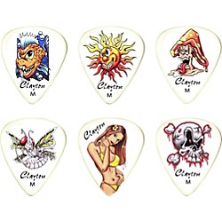 Clayton Liquid Sun Standard Guitar Picks 1 Dozen (LSM/12)