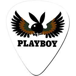 Clayton Playboy Wings Standard Guitar Picks 1 Dozen (PWSM/12)