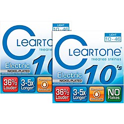 Cleartone 9410 Treated Light Electric Guitar Strings (2-Pack) (9410 2 PK KIT)