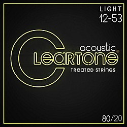 Cleartone Bronze Acoustic Guitar Strings (7612)