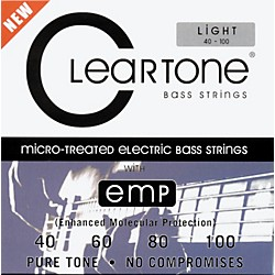 Cleartone Micro-Treated Light Electric Bass Guitar Strings (6440)