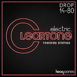 Cleartone Monster Heavy Series Nickel-Plated Drop A Electric Guitar Strings (C9480)