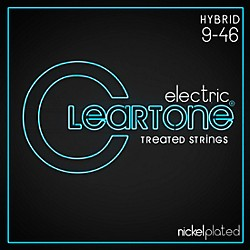 Cleartone Nickel-Plated Light Hybrid Electric Guitar Strings (9419)