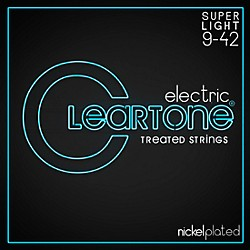 Cleartone Nickel-Plated Super Light Electric Guitar Strings (9409)