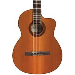 Cordoba C5-CE Classical Cutaway Acoustic-Electric Guitar (GUCLCOR-02908)