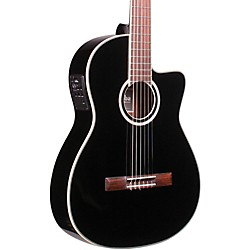 Cordoba Fusion 12 Jet Acoustic-Electric Nylon String Classical Guitar (GUHYCOR-03947)