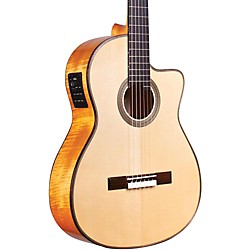 Cordoba Fusion 12 Maple Acoustic-Electric Nylon String Classical Guitar (GUHYCOR-05623)
