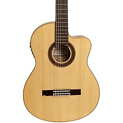 Cordoba GK Studio Negra Acoustic-Electric Nylon String Flamenco Guitar (GUFLCOR-05283)