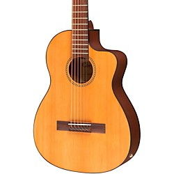 Cordoba La Playa Travel Half-Size Acoustic-Electric Steel String Guitar (GUCLCOR-03764)