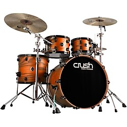 "Crush Drums & Percussion Chameleon Ash 5-Piece Shell Pack with 24"" Bass (C2A548-204K)"