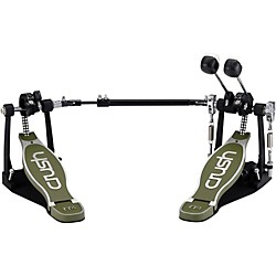 Crush Drums & Percussion M4 Double Bass Drum Pedal with Hard Case (M4DBDP)