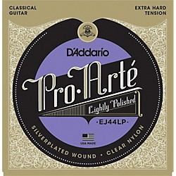 D'Addario EJ44LP Pro-Arte Composites Extra Hard Tension Classical Guitar Strings (EJ44LP)