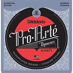 D'Addario EJ45TT ProArte DynaCore Normal Classical Guitar Strings (EJ45TT)