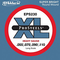D'Addario EPS230 ProSteel Long Scale Bass Strings Heavy (EPS230)