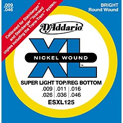 D'Addario ESXL125 Double Ball End Light/Electric Guitar Strings (ESXL125)