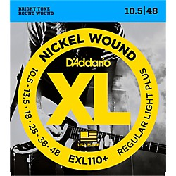 D'Addario EXL110+ XL 010 Electric Guitar Strings (EXL110+)