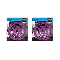 D'Addario EXL120BT Balanced Tension X-Lite Electric Guitar Strings (2-Pack) (EXL120BT-2PK)