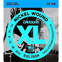 D'Addario EXL150H High-Strung Guitar Strings (EXL150H)