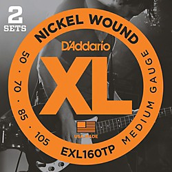 D'Addario EXL160TP Twin-Pack Bass Guitar Strings (EXL160TP)