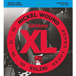 D'Addario EXL230 Heavy Long Bass Strings (EXL230)