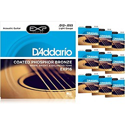 D'Addario EXP16 Acoustic Strings 10 Pack (KIT879028)