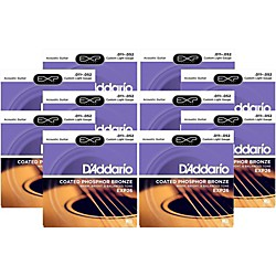 D'Addario EXP26 Acoustic Strings 10 Pack (KIT - 502080OLD)