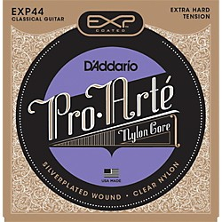 D'Addario EXP44C Coated Extra Hard Classical Guitar Strings (EXP44)