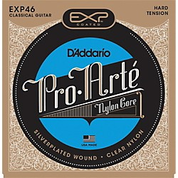D'Addario EXP46 Coated Hard Classical Guitar Strings (EXP46)