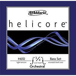 D'Addario H610 Helicore 3/4 Bass String Set (H610 3/4L)