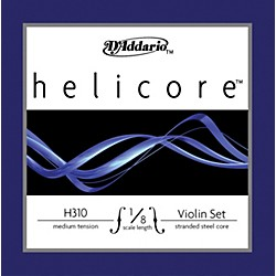 D'Addario Helicore 1/8 Size Violin Strings (H310 1/8M)