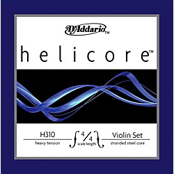 D'Addario Helicore Violin Set 4/4 Heavy Strings (H310 4/4H)