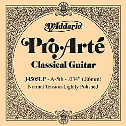D'Addario J45 A-5 Pro-Arte Composites Normal LP Single Classical Guitar String (J4505LP)