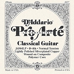 D'Addario J45 D-4 Pro-Arte Composites Normal LP Single Classical Guitar String (J4504LP)