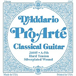 D'Addario J46 A-5 Pro-Arte SP Hard Single Classical Guitar String (J4605)