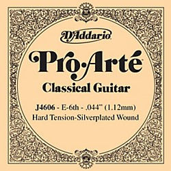 D'Addario J46 E-6 Pro-Arte SP Hard Single Classical Guitar String (J4606)