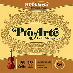 D'Addario J59 Pro-Arte 1/2 Size Cello String Set (J59 1/2M)