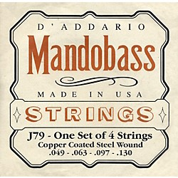 D'Addario J79 Mandobass Copper String Set (J79)