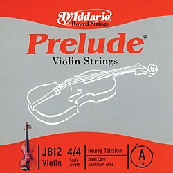 D'Addario J812 Prelude 4/4 Violin Single A String Aluminum Wound (J812 4/4H)