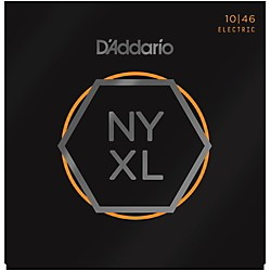 D'Addario NYXL Nickel Wound Light Electric Guitar Strings (10-46) (NYXL1046)