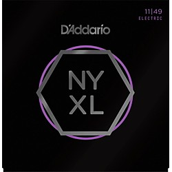 D'Addario NYXL Nickel Wound Medium Electric Guitar Strings (11-49) (NYXL1149)
