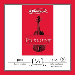 D'Addario Prelude 4/4 Size Heavy Cello A String (J1011 4/4H)