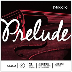 D'Addario Prelude Cello A String (J1011 1/4M)