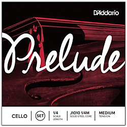 D'Addario Prelude Cello String Set (J1010 1/4M)