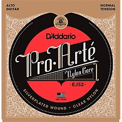 D'Addario Pro-Arte Clear Nylon/Silver Wound for Alto Guitar (EJ52)