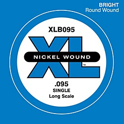 D'Addario XLB095 Extra Long Single Bass String (XLB095)