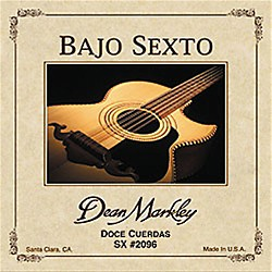 DEAN MARKLEY 2096 Bajo Sexto SX 12-String Acoustic Guitar Strings (2096)