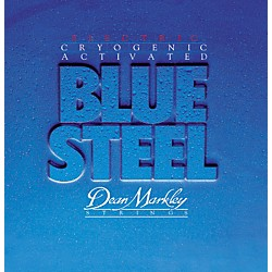 DEAN MARKLEY 2562 Blue Steel Cryogenic Medium Electric Guitar Strings (2562)