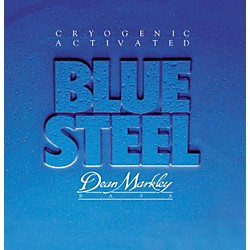 DEAN MARKLEY 2670 Blue Steel Cryogenic Extra Light Bass Strings (2670)